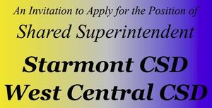 Shared Superintendent Position