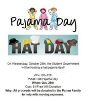 Pajama/Hat Day