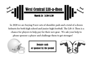 2nd Annual Lift-a-Thon