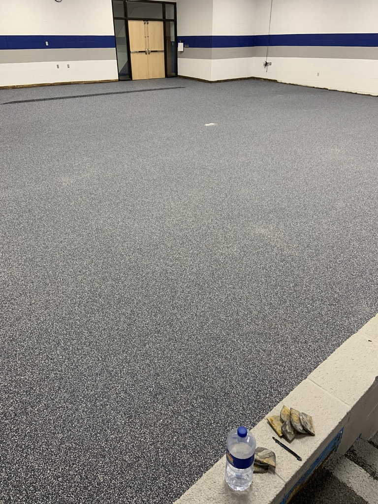 Auditorium floor updates