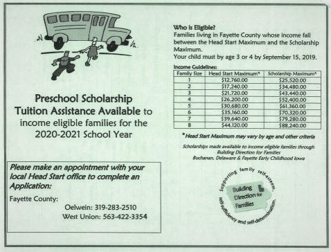 Preschool Scholarships